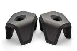 STUUL® - der Innovative Zweiteilige Toilettenhocker für schöne Bäder und einen gesunden Darm. Das Original. (Charcoal) - 1