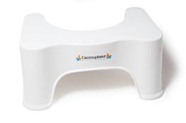 Toilettenhocker - empfohlen von Gastroenterologen - Bekommen Sie einen flachen Bauch dank kompletter Darmentleerung - Natürliche Hockstellung beugt Verstopfung vor - Diskret und Effizient Hocker -