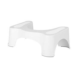 Toilettenhocker, Toilettensitz, Toilettenhilfe, Hockhaltung, Verstopfung, gesunde Haltung, rutschsicher, 53 x 33 x 19 cm - 1